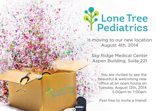 Lone Tree Pediatrics Aspen Building Move