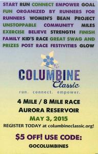 Columbine Classic Race info